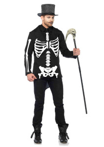Skeleton Tuxedo Jacket and Tie