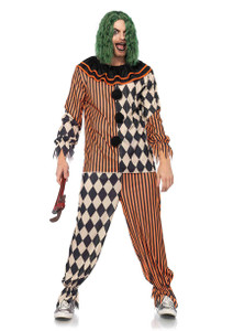 Creepy Circus Clown Costume