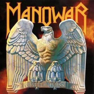 """Manowar- Battle Hymns 4x4"""" Color Patch"""