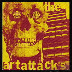 "The Art Attacks - I Am A Dalek 4x4"" Color Patch"