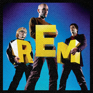 """R.E.M - Perfect Circle: The Story of R.E.M. 4x4"""" Color Patch"""