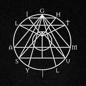 "Light Asylum Logo 5x3"" Printed Patch"