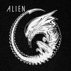 "Ridley Scott's Alien Xenomorph Queen 4x4"" Printed Patch"