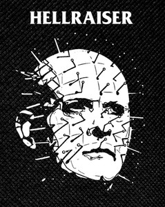 "Clive Barker's Hellraiser Pinhead 3.5x5"" Printed Patch"