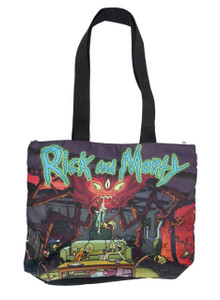 Rick and Morty - Insect Attack Shoulder Tote Bag