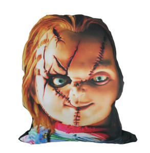 Chucky Cut Out Throw Pillow