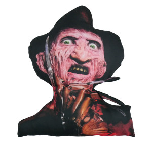 Freddy Krueger Cut Out Throw Pillow