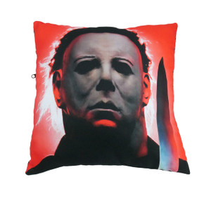 Go Rocker - Michael Myers Throw Pillow