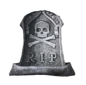 R.I.P. Tombstone Throw Pillow