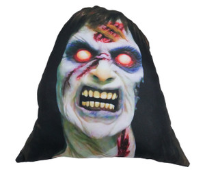 Go Rocker - Evil Dead's Cheryl Williams Throw Pillow