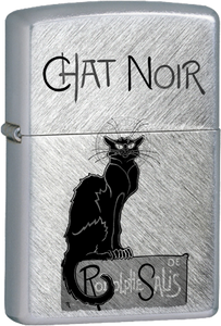 Le Chat Noir By Rodolphe Salis Chrome Lighter