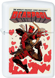 Deadpool Cupid Valentine's Day White Lighter