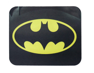 "Batman Yellow Logo Misprinted 9x7"" Mousepad"