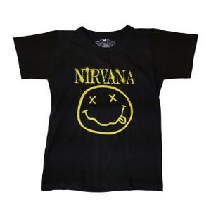 Kid's T-Shirt - Nirvana Smiley