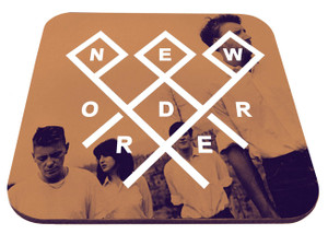 "New Order - Band Pic 9x7"" Mousepad"