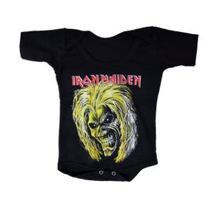 Baby Onesie - Iron Maiden Eddie