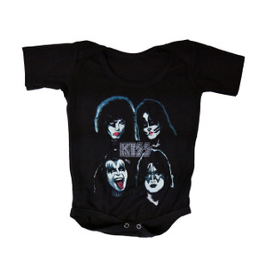 Baby Onesie - KISS Band