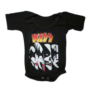 Baby Onesie - KISS Faces