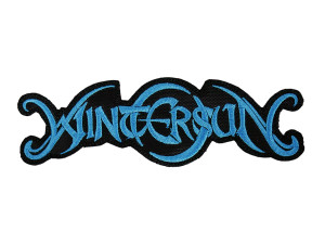 "Wintersun Blue Logo 5x1"" Embroidered Patch"