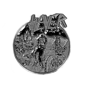 "Slayer - Live Undead 2"" Metal Badge"