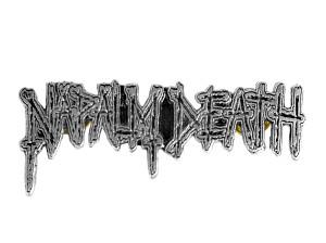 """Napalm Death Logo 3.5"""" Metal Badge"""