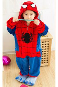 Kid Size Spider-Man Kigurumi Onesie