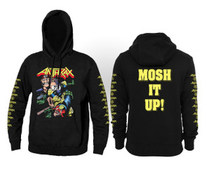 Anthrax Mosh It Up Hooded Sweatshirt