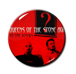 "Queens of the Stone Age - No One Knows 1.5"" Pin"