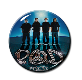 "P.O.D. - Satellite 1.5"" Pin"