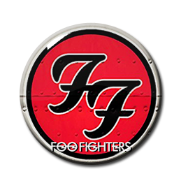 "Foo Fighters Logo 1.5"" Pin"