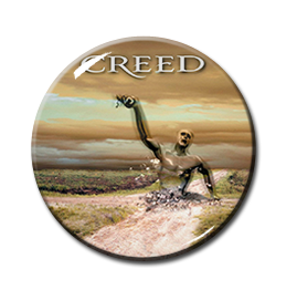 "Creed - Human Clay 1.5"" Pin"