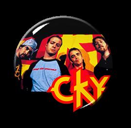 """CKY Band 1.5"""" Pin"""