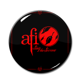 """AFI - Sing the Sorrow 1.5"""" Pin"""
