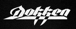 "Dokken Logo 5x2.5"" Printed Patch"