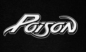 "Poison Logo 6x2.5"" Printed Patch"