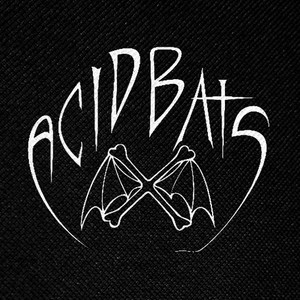 "Acid Bats Logo 4x4"" Printed Patch"