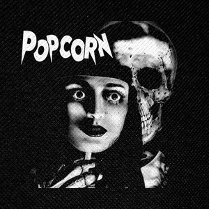 "Popcorn Movie 4x4"" Printed Patch"