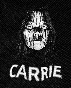"Carrie 4x4.5"" Printed Patch"