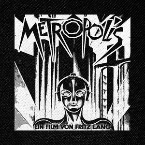 "Metropolis 4x4"" Printed Patch"
