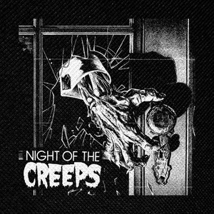 "Night of the Creeps 4x4"" Printed Patch"