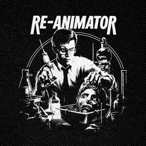 "Re-Animator 4x4"" Printed Patch"