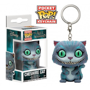 Alice In Wonderland - Cheshire Cat Pocket Pop Key Chain
