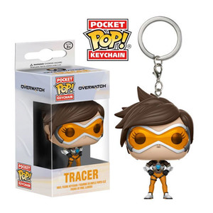 Overwatch - Tracer Pocket Pop Key Chain