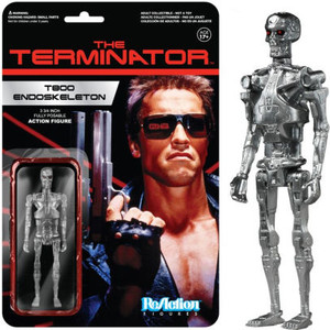 Reaction Figures - Terminator T800 Endoskeleton