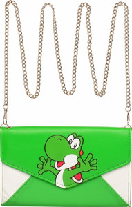 Yoshi Envelope Wallet with Chain