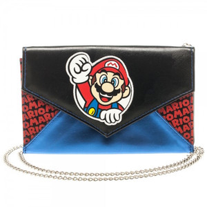 Mario Envelope Wallet with Chain