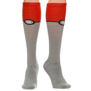 Pokemon - Pokeball Knee High Socks
