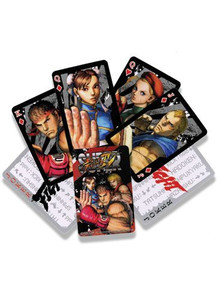 Super Street Fighter IV Playing Cards
