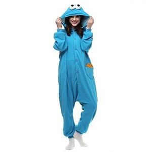 Cookie Monster Kigurumi Adult Size Onesie