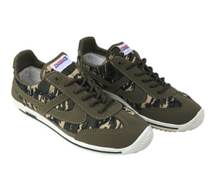 Panam - Olive Camouflage Unisex Sneaker